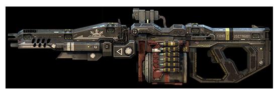 XOTBR-16 Chaingun